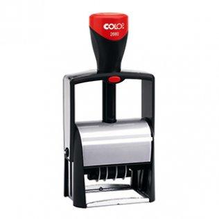 Sello automático Colop Classic Line S-2660 Negro con fecha