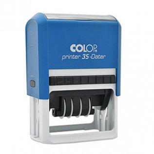 Sello automático Colop Printer 35 Negro 30x50mm