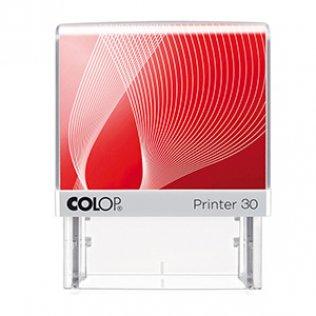 Sello entintaje automático Colop Printer 30 Rojo 18x47mm