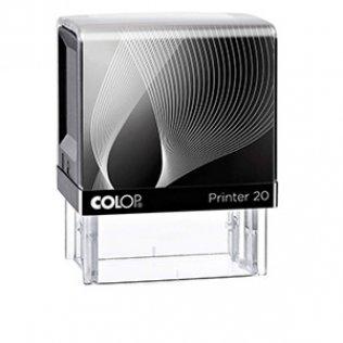 Sello entintaje automático Colop Printer 20 Negro 14x38mm