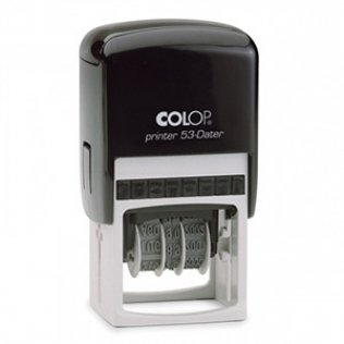 Sello automático Colop Dater Rectangular P-53 Dater