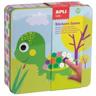 Juego Educativo Sticker Game Gomets Apli Kids