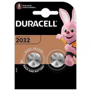 Pilas Duracell de botón 2032 - 3V / blíster 2 ud