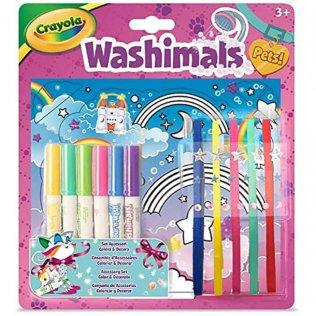 Juego educativo Crayola Washimals Set de Accesorios