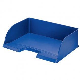 Bandeja sobremesa Leitz Plus JUMBO de acceso apaisado azul