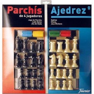 Juego Educativo Parchís/Ajedrez Fournier