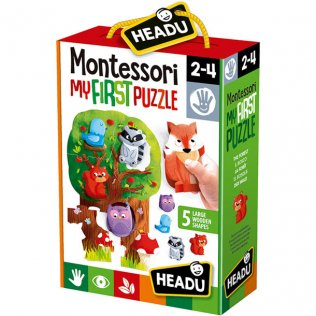 Juego Educativo Montessori First Puzzle The Forest Fournier