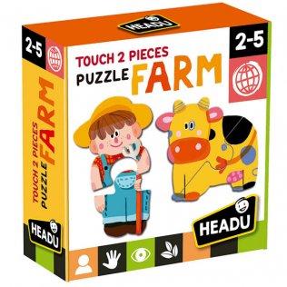 Juego Educativo Puzzle Touch Farm Fournier