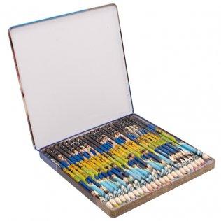 Estuche 24 lápices de colores Fundación Leo Messi