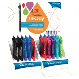 Bolígrafo Paper Mate Inkjoy 300RT Exp/50 unid colores surtidos