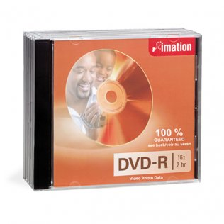 DVD+R Imation Jewell Case