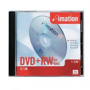 DVD+RW Imation Jewel case