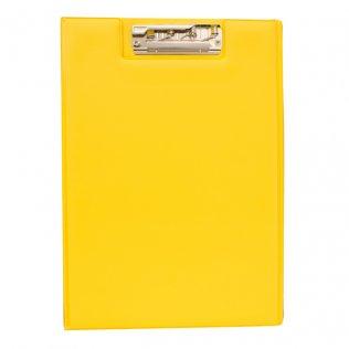Carpeta miniclip PVC amarillo