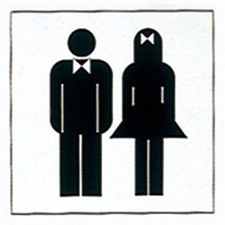 Etiquetas de señalización Apli WC