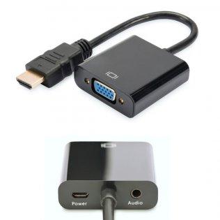 Convertidor HDMI a VGA Digitus