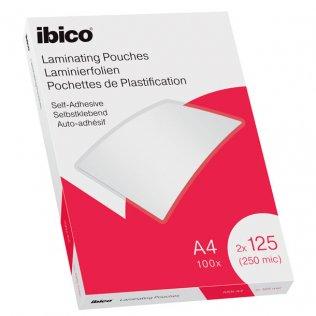 Funda plastificar Ibico A4 Autoadhesiva 100 ud.