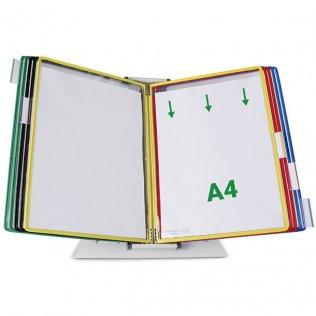 Portacatálogo sobremesa PVC A4 Tarifold 10 fundas