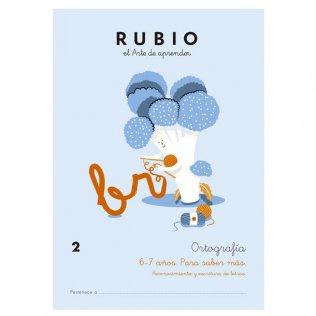 Cuaderno Rubio Ortografía 2 Para Saber Más - 5 unid