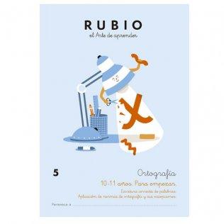 Cuaderno Rubio Ortografía 5 Para Empezar - 5 unid