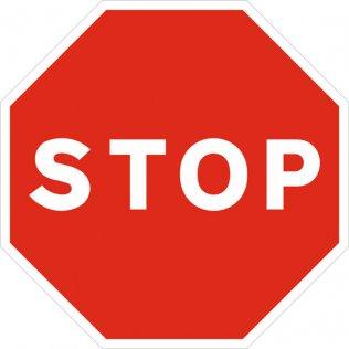 Pictograma Sys señal stop