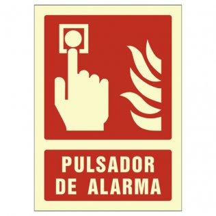Pictograma Sys pulsador de alarma A4