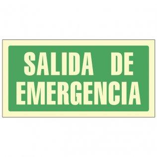 Pictograma Sys salida emergencia