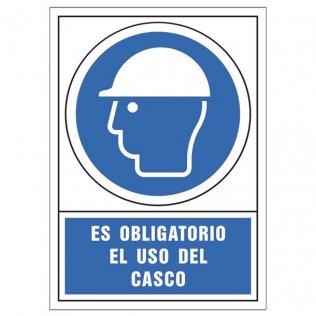 Uso obligatorio casco pictograma Sys