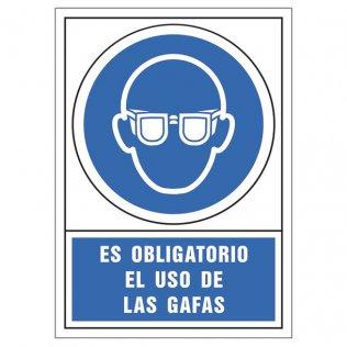 Uso obligatorio gafas pictograma Sys