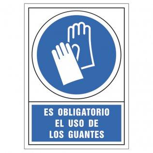 Uso obligatorio guantes pictograma Sys