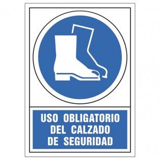 Uso obligatorio calzado seguridad pictograma Sys