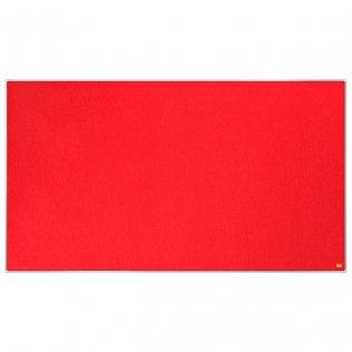 Tablero fieltro rojo 1220x690mm Nobo Impression Pro