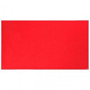 Tablero fieltro rojo 1880x1060 Nobo Impression Pro