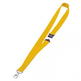 Cinta portanombres amarillo 44x2cm Durable
