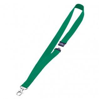 Cinta portanombres verde 44x2cm Durable