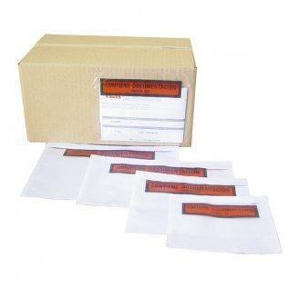 Sobres portadocumentos transparentes 320x250mm 500ud Makro Paper
