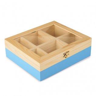Caja de madera para infusiones