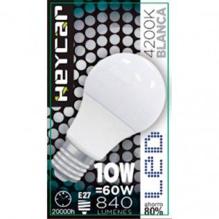 Bombilla LED Clasic E27 10W 830LUM Blanca