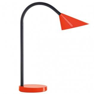 Lámpara de escritorio LED Sol rojo Unilux