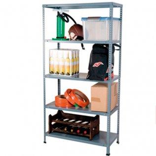 Estantería metálica AR Shelving 5 estantes 80kg por balda