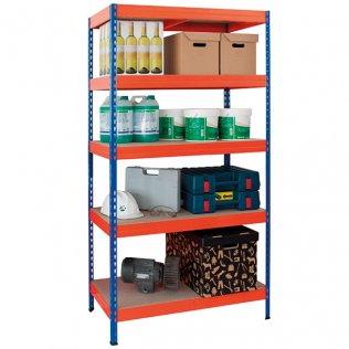 Estantería metálica AR Shelving 5 estantes 300kg por balda