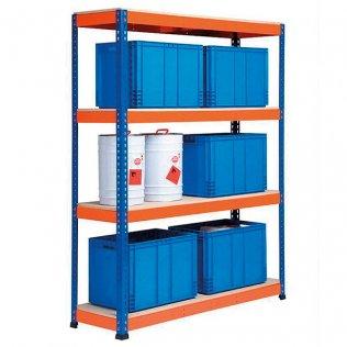 Estantería metálica AR Shelving 4 estantes 430kg por balda