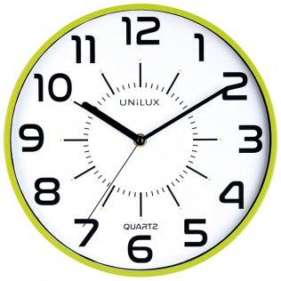 Reloj de pared Pop verde anís Unilux 11 pulgadas