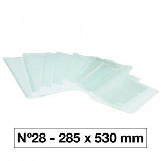 FORRO LIBROS PVC Nº28 130M 285X530/5U