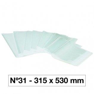 FORRO LIBROS PVC Nº31 130M 315X530/5U