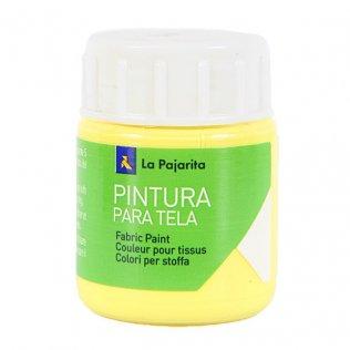 Pintura Tela La Pajarita 25ml Amarillo Claro