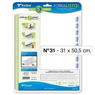 FORRO PLASTICO SADIPAL Nº31 31X50,50