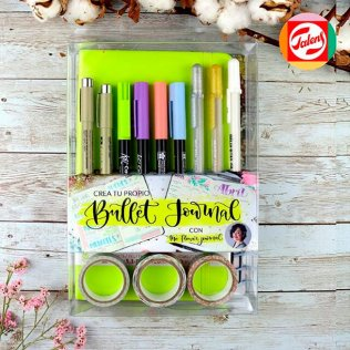 Set Crea tu propio Bullet Journal/Verde
