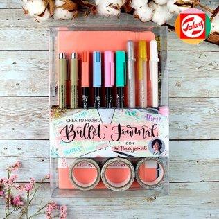 Set Crea tu propio Bullet Journal / Coral