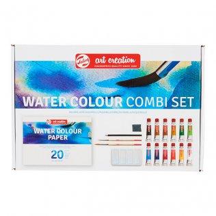 Set de pintura acuarela Talens 12 ml / 12 colores