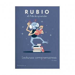Cuaderno Rubio Lectura Comprensiva +6